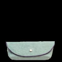 avondtas mini groen blauw
